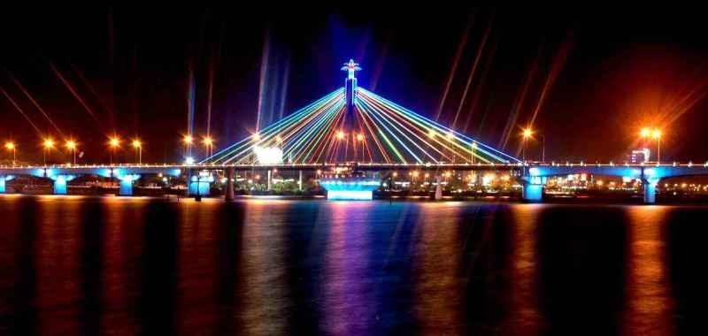 Cầu sông Hàn - Cầu quay duy nhất Việt Nam