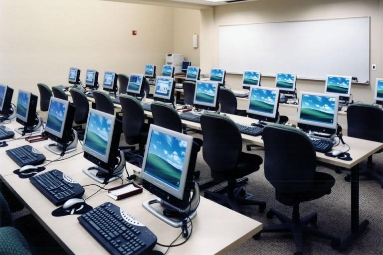 Không gian phòng học hiện đại tại Trung tâm KEY