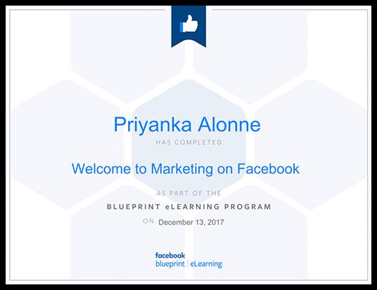 Tự học digital marketing qua Khóa học facebook Marketing đạt chứng chỉ facebook Blueprint